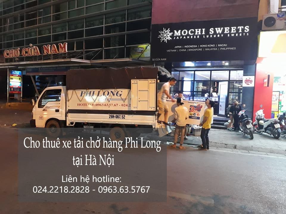 Cho thuê xe tải 1 tấn giá rẻ tại phố Phú Thượng