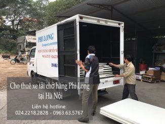 Cho thuê xe taxi tải giá rẻ tại phố Nguyễn Tri Phương