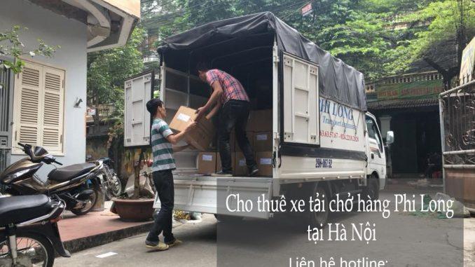 Cho thuê xe taxi tải giá rẻ tại phố Phó Đức Chính