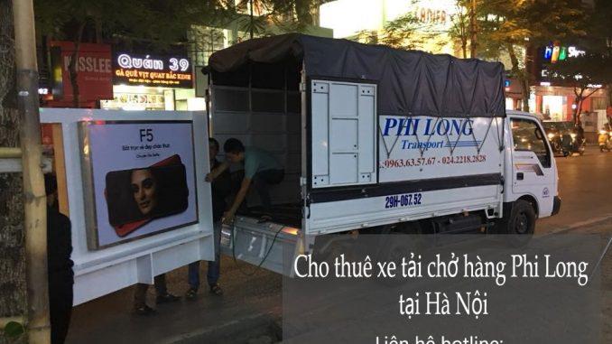 Cho thuê xe taxi tải giá rẻ tại phố Trần Khát Chân