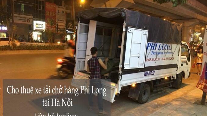 Cho thuê xe tải chở hàng theo tháng tại phố Quỳnh Đô