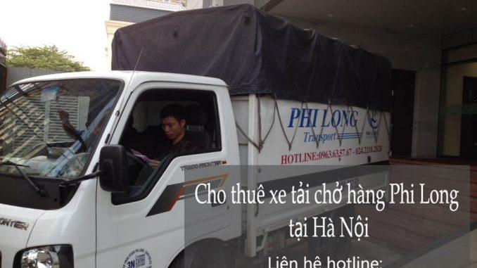 Dịch vụ taxi tải giá rẻ tại phố Ngô Tất Tố