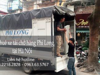 Dịch vụ taxi tải giá rẻ tại phố Trịnh Hoài Đức