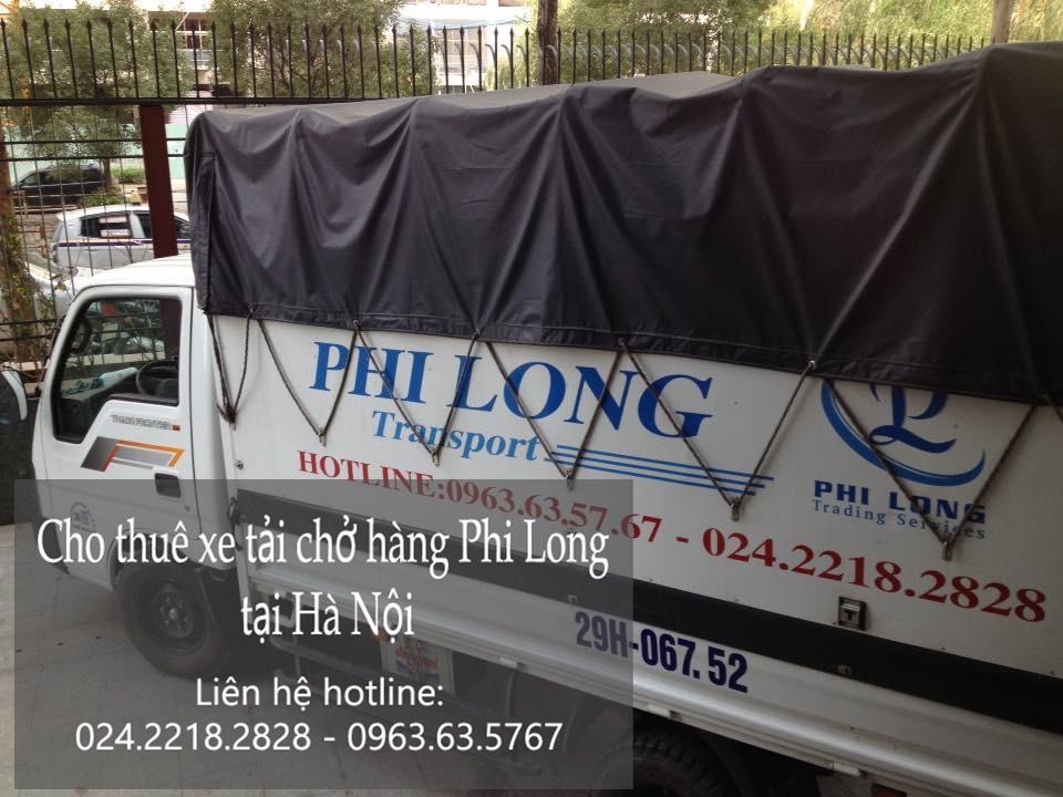 Dịch vụ taxi tải giá rẻ tại phố Vũ Hữu