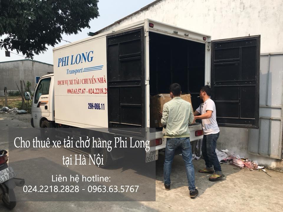 Thuê xe chuyển đồ nhanh chóng tại phố Tràng Tiền