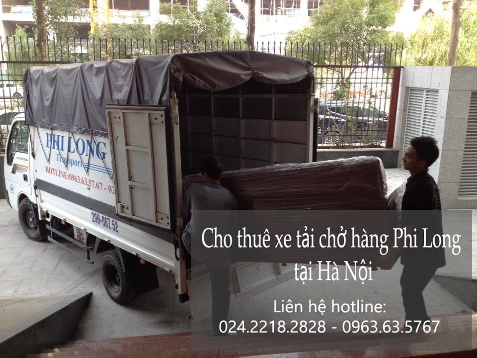 Dịch vụ taxi tải giá rẻ tại phố Lương Ngọc Quyến