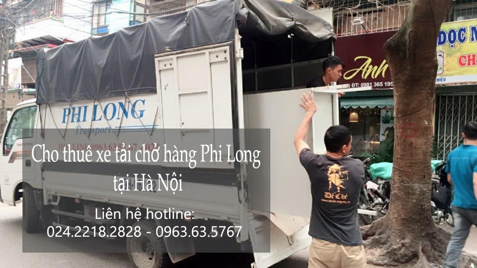 Cho thuê xe taxi tải giá rẻ tại phố Hoàng Đạo Thúy