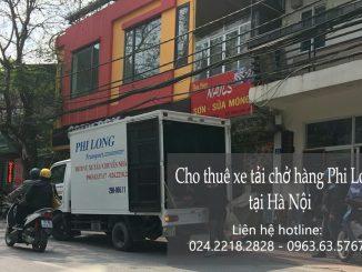 Dịch vụ thuê taxi tải giá rẻ tại phố Ngọc Khánh
