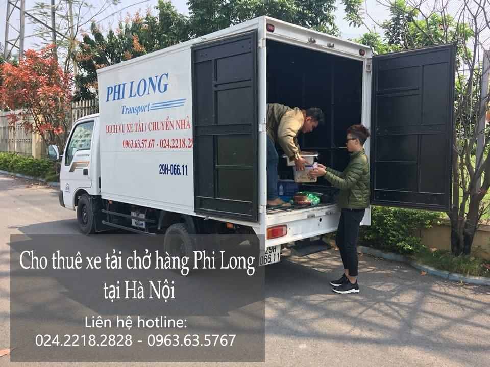 Dịch vụ taxi tải giá rẻ tại phố Trần Quốc Toản