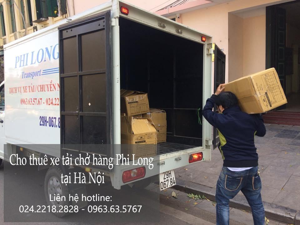 Cho thuê xe tải tại phố Đặng Xuân Viện