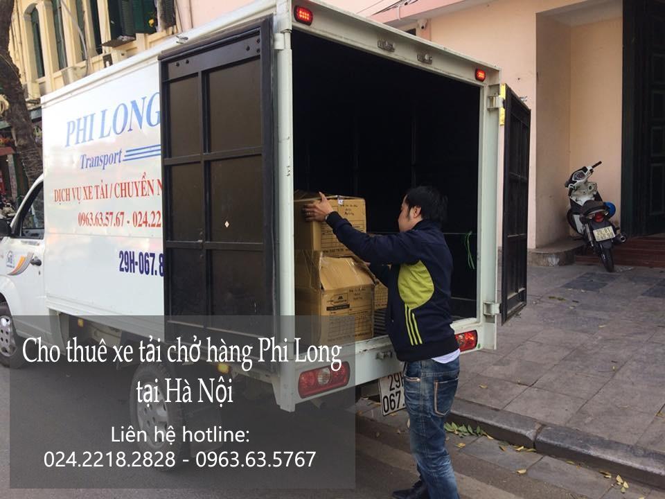 Dịch vụ taxi tải giá rẻ tại phố Nguyễn Thượng Hiền