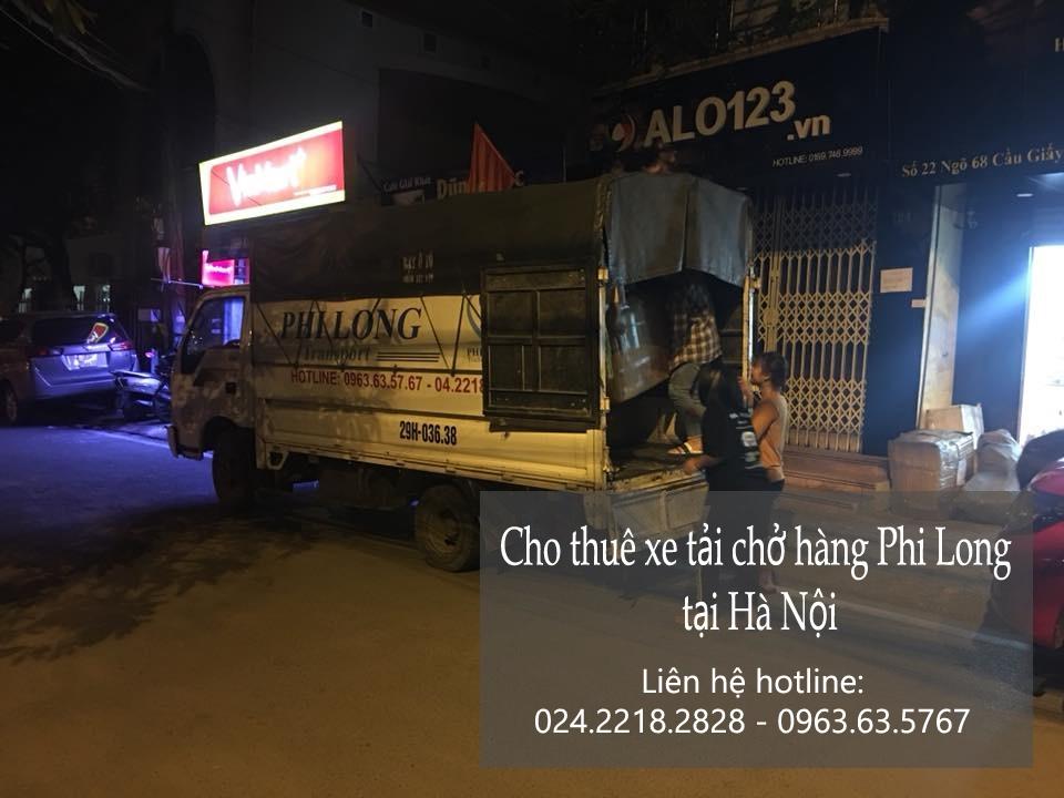 Xe tải chuyển nhà giá rẻ tại phố Lê Lợi
