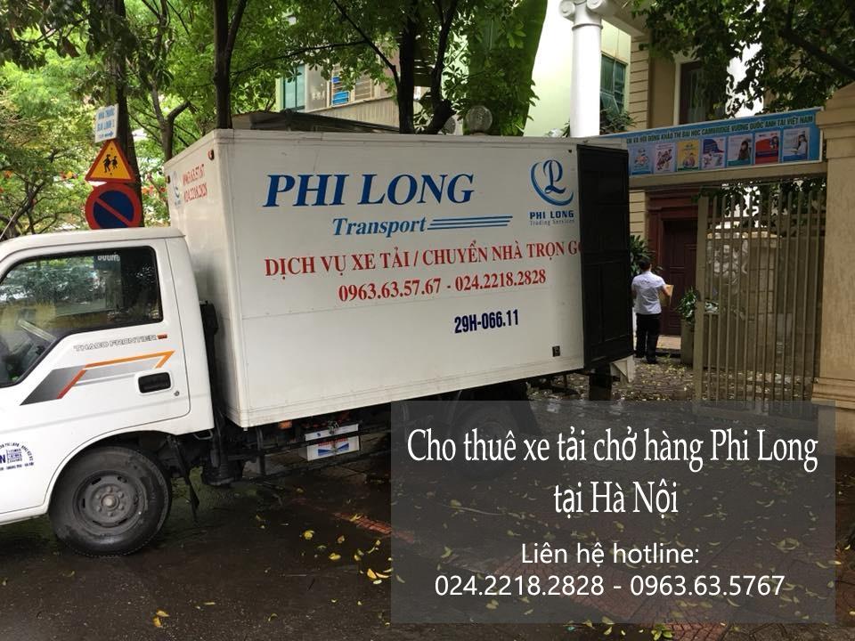 Bạn đang cần thuê xe chở hàng tại phố Vũ Phạm Hàm?