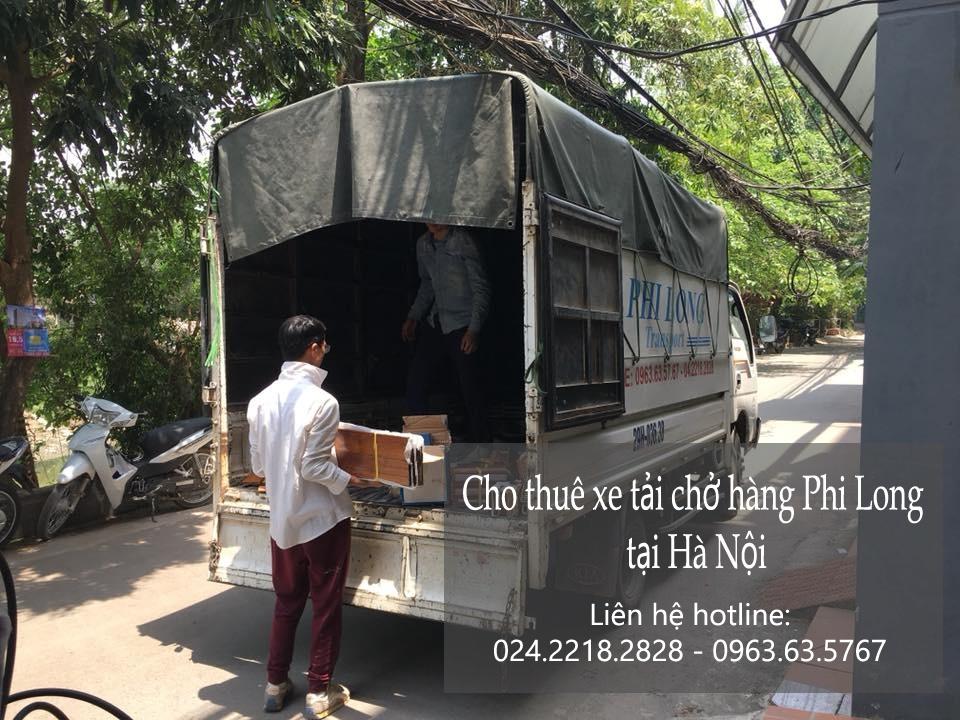 Cho thuê xe taxi tải giá rẻ tại phố Phú Lương