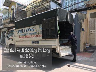 Dịch vụ taxi tải giá rẻ tại phố Trung Yên
