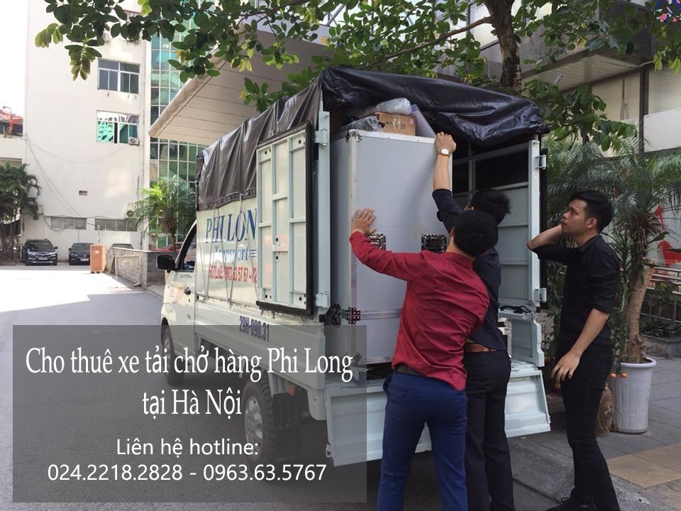 Cho thuê xe tải Hà Nội giá rẻ tại phố Trần Kim Chung