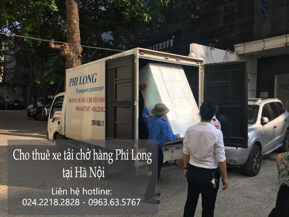 Dịch vụ chở hàng thuê giá rẻ tại phố Triệu Việt Vương