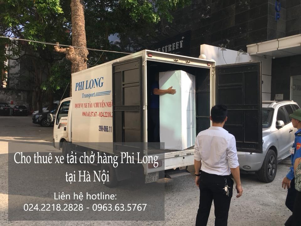 Xe tải chuyển nhà tại phố Lê Thanh Nghị