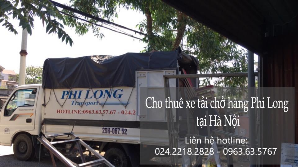 Xe tải chở hàng thuê tại phố Đại La
