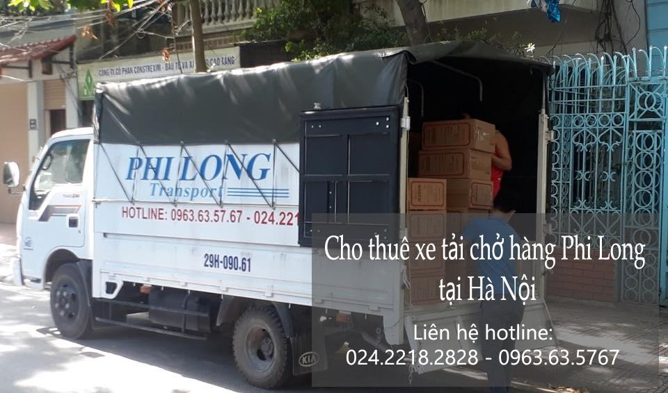 Xe tải chở hàng thuê giá rẻ tại phố Hàng Chiếu