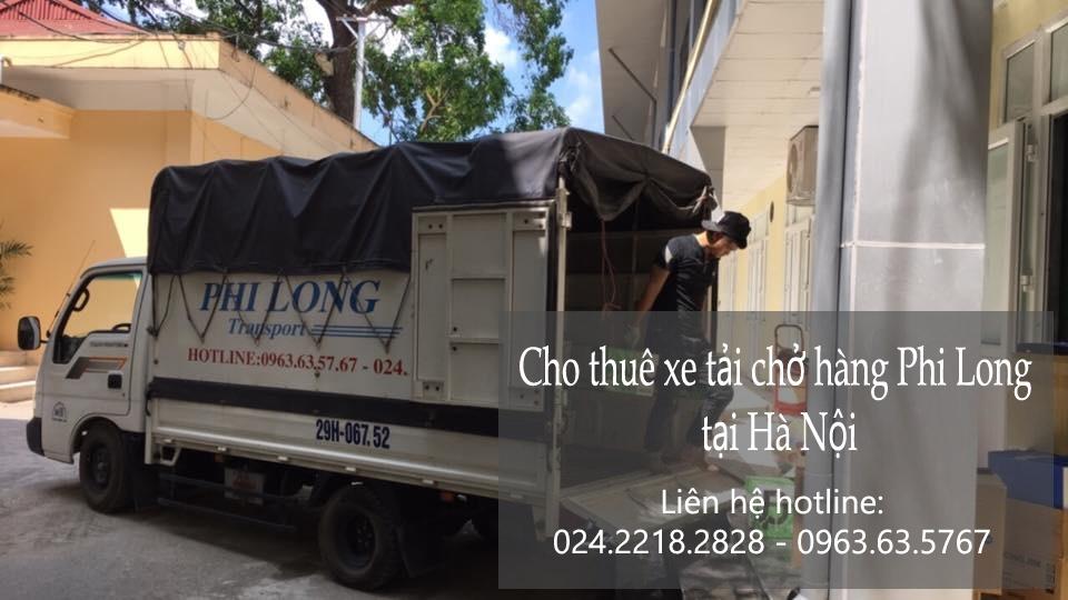 Thuê xe chuyển đồ tại phố Phan Huy Ích