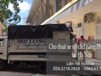 Xe tải chở hàng thuê giá rẻ tại phố Yên Ninh