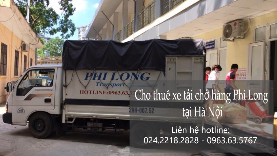 Cho thuê xe tải chở hàng chuyên nghiệp tại phố Nghĩa Dũng