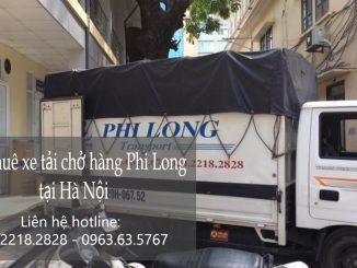 Xe tải chở hàng thuê giá rẻ tại phố Phạm Hồng Thái
