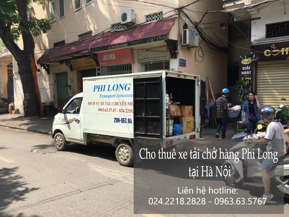 Dịch vụ taxi tải giá rẻ tại phố Trần Cao Vân