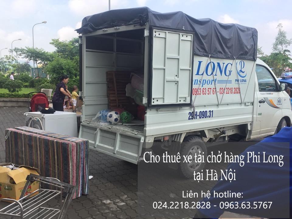 Dịch vụ taxi tải giá rẻ tại phố Nguyễn Siêu