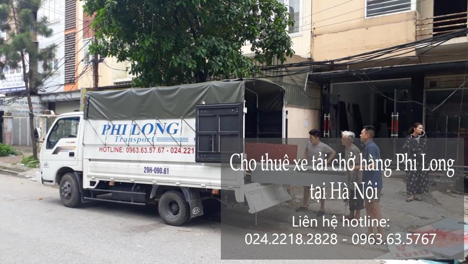 Cho thuê tải chở hàng giá rẻ tại phố Trần Quốc Toản