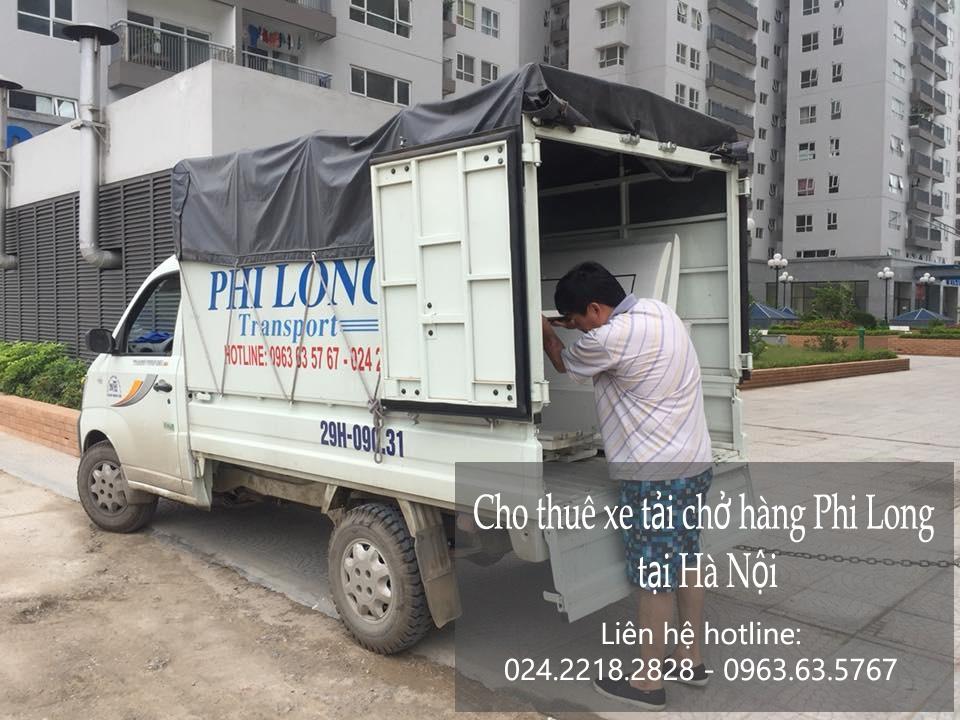Cho thuê xe taxi tải giá rẻ tại phố Trấn Vũ