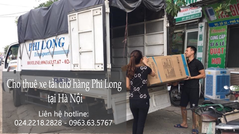 Taxi tải giá rẻ tại phố Hàng Vôi
