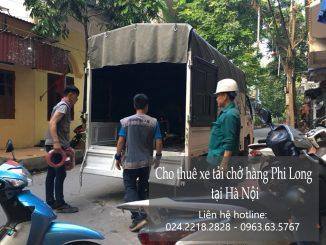Dịch vụ taxi tải giá rẻ tại phố Nguyễn Cơ Thạch