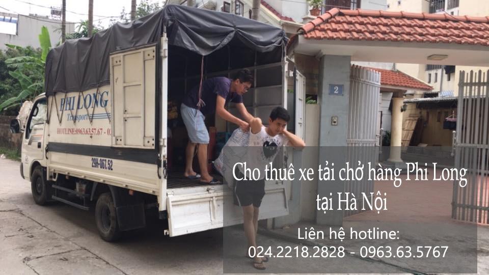Dịch vụ taxi tải giá rẻ tại phố Quảng An