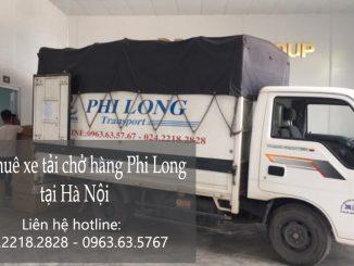 Cho thuê taxi tải giá rẻ tại phố Chùa Bộc