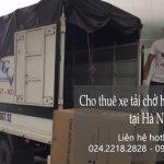 Dịch vụ taxi tải giá rẻ tại phố Bạch Thái Bưởi