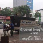 Taxi tải giá rẻ tại phố Đinh Công Tráng