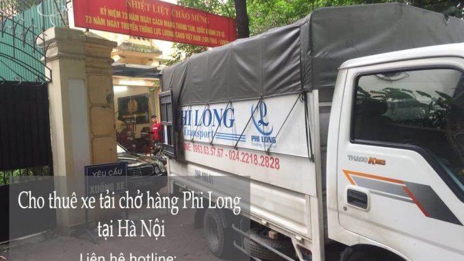 Dịch vụ taxi tải giá rẻ tại phố Thể Giao