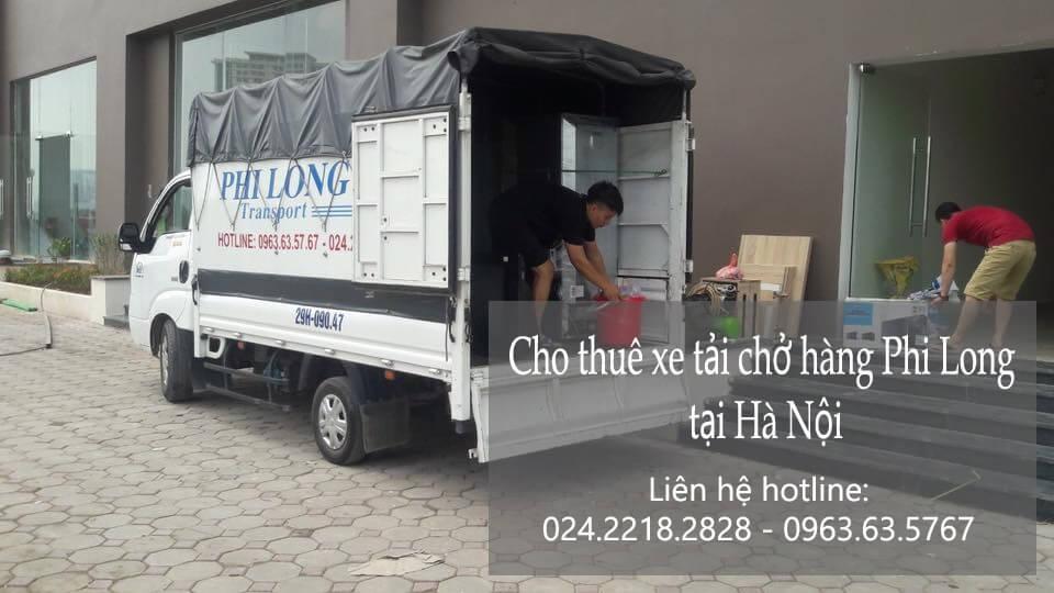 Taxi tải giá rẻ tại phố Chân Cầm