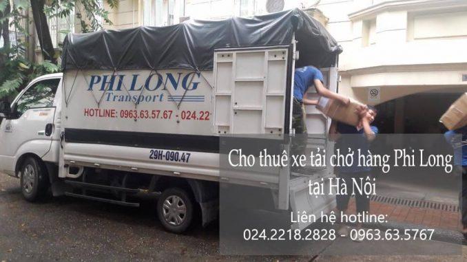 Dịch vụ taxi tải giá rẻ tại phố Hồng Mai