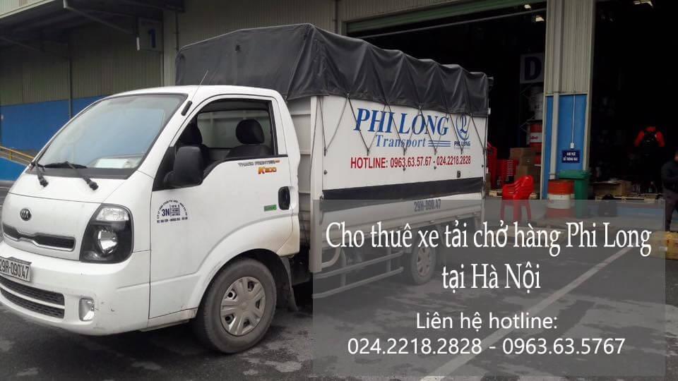 Dịch vụ taxi tải giá rẻ tại phố Chu Huy Mân