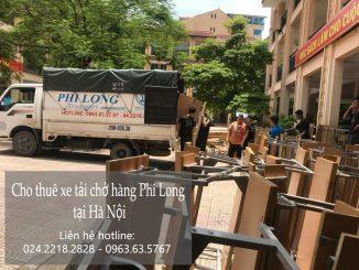 Taxi tải giá rẻ tại phố Chùa Hà