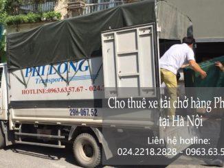 Dịch vụ taxi tải giá rẻ tại phố Phạm Ngũ Lão