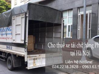 Dịch vụ taxi tải giá rẻ tại phố Lê Đại Hành