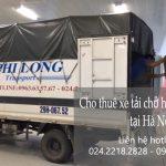 Dịch vụ taxi tải giá rẻ tại phố Nguyễn Chế Nghĩa