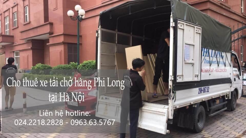 Dịch vụ taxi tải giá rẻ tại phố Châu Long