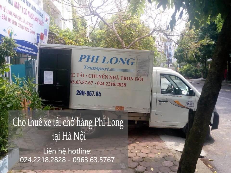 Dịch vụ taxi tải giá rẻ tại phố Hàng Bún