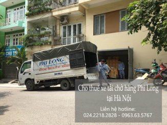 Dịch vụ taxi tải giá rẻ tại phố Hàng Dầu