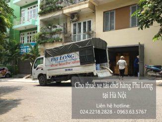 Dịch vụ taxi tải giá rẻ tại phố Ngô Sĩ Liên